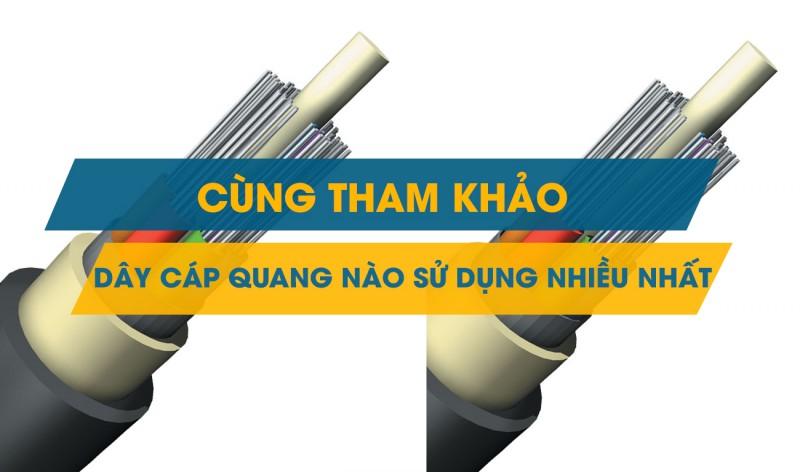 Tìm hiểu sản phẩm cáp quang treo 4 Core Singlemode, Dây cáp quang ...