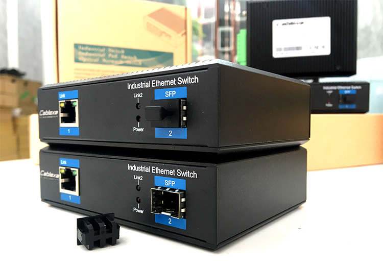 Switch công nghiệp Cablexa IES7211-1PGE1GF-CA