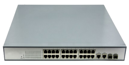 Switch quang PoE 24 Port HHD-360GX/PGE-AF 10/100/10Mbps
