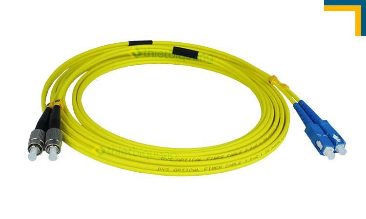 Kết quả hình ảnh cho dây nhảy quang Singlemode SC – FC