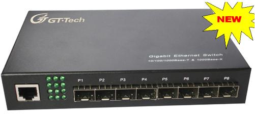 Switch Quang Giga Ethernet với 8 cổng SFP